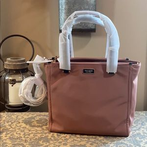 Kate Spade Dawn medium satchel in sparrow